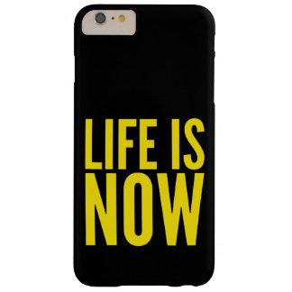 Coque iPhone 6 Plus Barely There La vie est maintenant