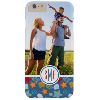 Coque iPhone 6 Plus Barely There La vie sous-marine Pattern| votre photo et