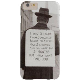 Coque iPhone 6 Plus Barely There le chômage des années 1930