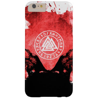 Coque iPhone 6 Plus Barely There Le sang Valknut de Viking