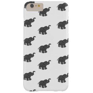 """Coque iPhone 6 Plus Barely There Les éléphants téléphonent le cas """"cas dur de"""