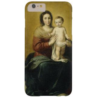 Coque iPhone 6 Plus Barely There Madonna et enfant, cas de téléphone de beaux-arts