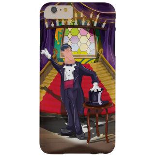 Coque iPhone 6 Plus Barely There Magicien exécutant tour de magie sur l'étape