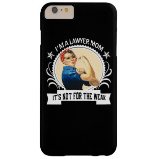 Coque iPhone 6 Plus Barely There Maman d'avocat - pas pour le faible