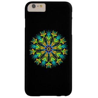 Coque iPhone 6 Plus Barely There Mandala au néon plumeux