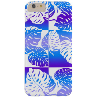 Coque iPhone 6 Plus Barely There Mélange rayé hawaïen de Makua Monstera