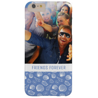 Coque iPhone 6 Plus Barely There Motif impertinent | de coquillage votre photo et