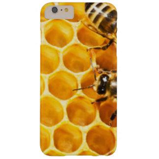 Coque iPhone 6 Plus Barely There Nid d'abeilles et conception de motif d'abeilles