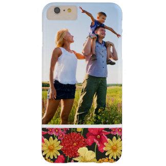 Coque iPhone 6 Plus Barely There Papier peint floral de photo faite sur commande