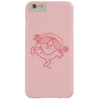 Coque iPhone 6 Plus Barely There Petite Mlle colorée par corail Sunshine