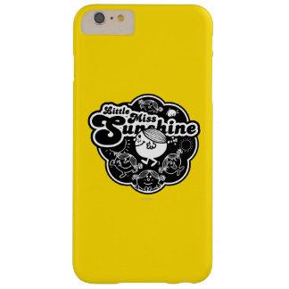 Coque iPhone 6 Plus Barely There Petite Mlle Sunshine   noir et blanc