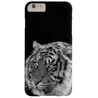 Coque iPhone 6 Plus Barely There Photo africaine d'animal de jungle de tigre noir