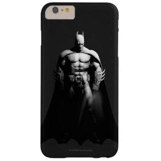 Coque iPhone 6 Plus Barely There Pose large noire et blanche de la ville | Batman