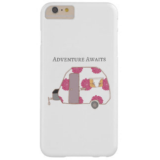 Coque iPhone 6 Plus Barely There Profondément satisfait - l'aventure attend
