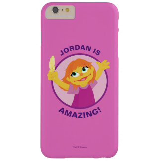 Coque iPhone 6 Plus Barely There Sesame Street   Julia tenant la plume