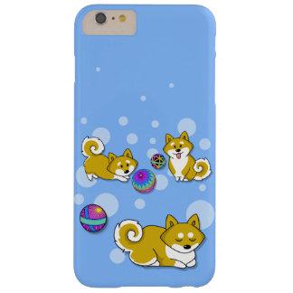 Coque iPhone 6 Plus Barely There Shiba adorable Inu et boules de Temari