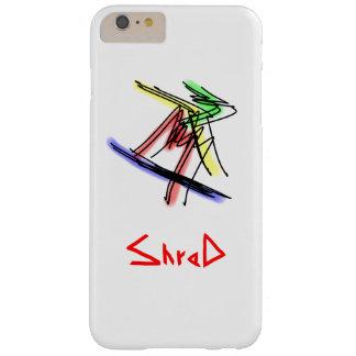 Coque iPhone 6 Plus Barely There Surfeur multicolor2 de lambeau