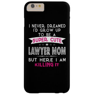 Coque iPhone 6 Plus Barely There Une maman mignonne superbe d'avocat