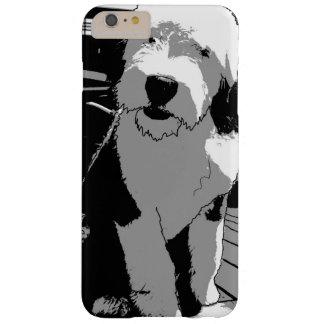 Coque iPhone 6 Plus Barely There Vieux croquis anglais de chien de berger