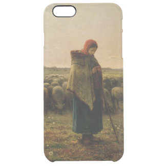 Coque iPhone 6 Plus Bergère avec son troupeau, 1863