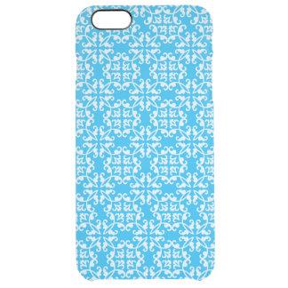 Coque iPhone 6 Plus Bleu vintage et blanc - cas de l'iPhone 6