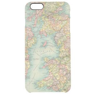 Coque iPhone 6 Plus Carte politique d'îles britanniques