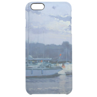 Coque iPhone 6 Plus Fin de l'après-midi amarrée de yachts
