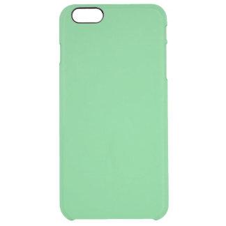 Coque iPhone 6 Plus G09 adoucissent agréablement la couleur vert clair