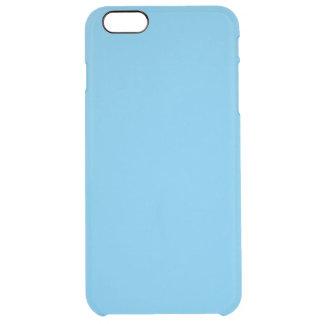 Coque iPhone 6 Plus Gentiment couleur de bleu de Snuggable