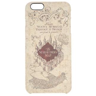 Coque iPhone 6 Plus La carte du maraudeur du charme | de Harry Potter