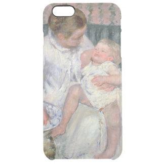 Coque iPhone 6 Plus Mère environ pour laver son enfant somnolent, 1880