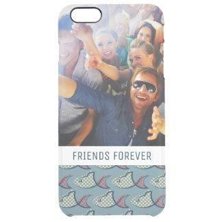 Coque iPhone 6 Plus Motif | de poissons de point de polka votre photo