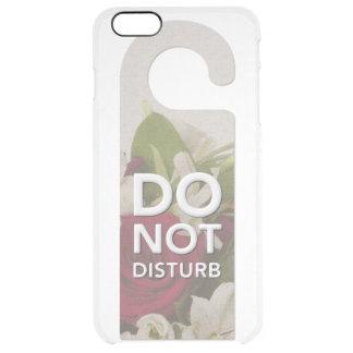 Coque iPhone 6 Plus Ne touchez pas aux roses et à dire de bouquet de