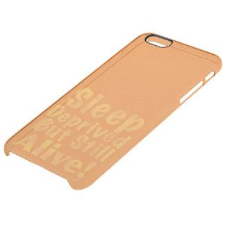 Coque iPhone 6 Plus Sommeil déshérité mais encore vivant en jaune
