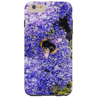 Coque iPhone 6 Plus Tough Abeille de fleur de Ceanothus