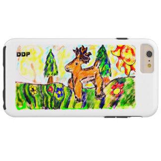 Coque iPhone 6 Plus Tough Art de forêt de cerfs communs