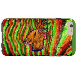 Coque iPhone 6 Plus Tough art frais de cerfs communs