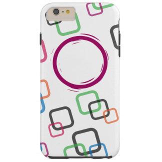 Coque iPhone 6 Plus Tough Caisse colorée de l'iPhone 6/6s