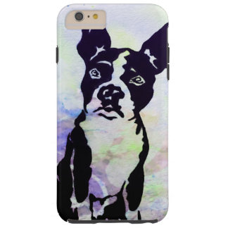 Coque iPhone 6 Plus Tough Cas de téléphone de Boston Terrier