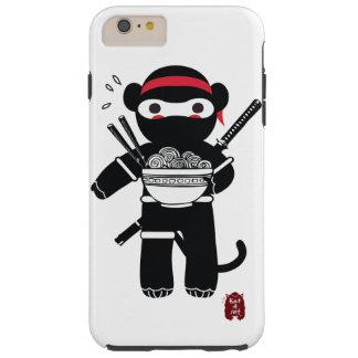 Coque iPhone 6 Plus Tough Cas de téléphone de singe de Ninja