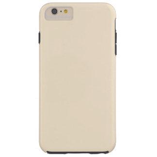 Coque iPhone 6 Plus Tough Cas PLUS de l'iPhone 6 durs de Champagne