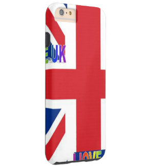 COQUE iPhone 6 PLUS TOUGH J'AIME LE R-U