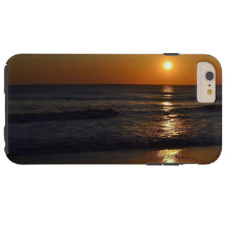 Coque iPhone 6 Plus Tough Lever de soleil à la plage par Shirley Taylor
