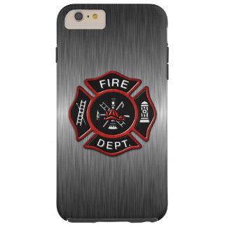 Coque iPhone 6 Plus Tough Sapeur-pompier de luxe