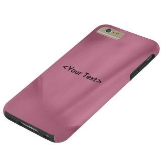 Coque iPhone 6 Plus Tough Texture de plan rapproché de fleur froissée par
