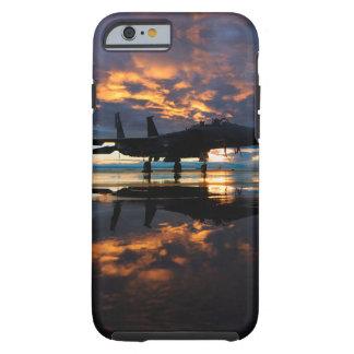 Coque iPhone 6 Tough Avion d'avion de chasse aux cadeaux de militaires