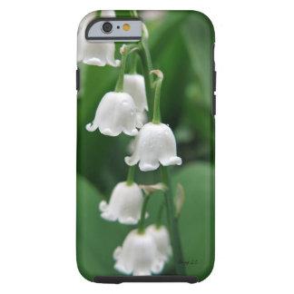 Coque iPhone 6 Tough Belles de cas botanique de téléphone de ressort