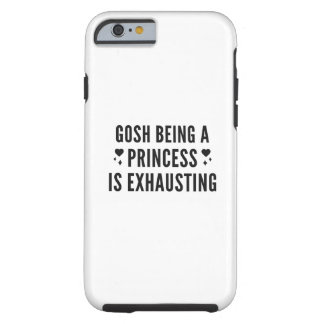 Coque iPhone 6 Tough Ça alors princesse