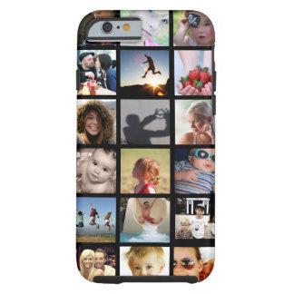 Coque iPhone 6 Tough Cas de l'iPhone 6 de collage de photo de client