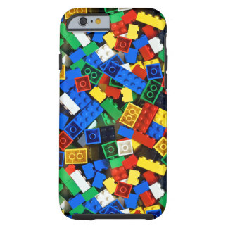 Coque iPhone 6 Tough Construction de briques de construction de blocs
